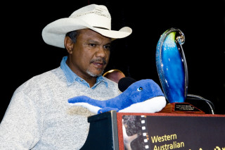 Yawuru custodian Neil McKenzie gave an outstanding talk at the 2007 State Coastal Conference.