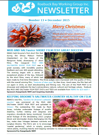 RBWG eNewsletter (Dec 2015) Web